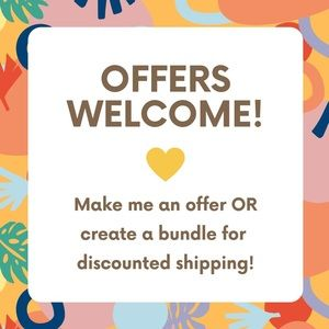 Other - 💛 Make Me An Offer 💛